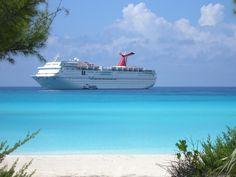 Half Moon Cay, Bahamas. My FAVORITE PLACE EVERRR