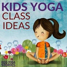 Looking for fun kids yoga class ideas? This collection of yoga ideas is for your home, classroom, or studio. Each theme has 5 books + 5 yoga poses for kids. Kids Yoga Poses, Yoga For Kids, Exercise For Kids, Teaching Yoga To Kids, Bora Malhar, Preschool Yoga, Toddler Yoga, Yoga Games, Family Yoga