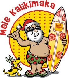 Hawaiian Merry Christmas.107 Best Hawaiian Christmas Images Navidad Vacaciones De