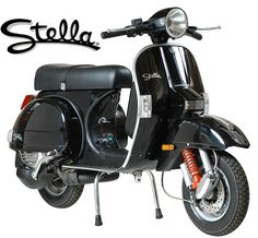 Stella scooter - the only type of bike I'd fancy =D