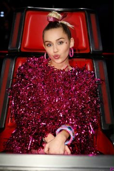 Miley Love... The Voice