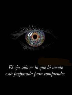 El ojo solo ve*...