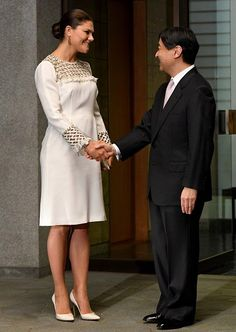 Crown Princess Victoria finishes up her visit of Tokyo today.