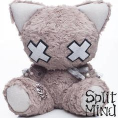 Char Brown Kitten by splitmindplush on DeviantArt Kawaii Plush, Cute Plush, Creepy Stuffed Animals, Chica Dark, Brown Kitten, Pastel Punk, Grey Bunny, Kawaii Room, Voodoo Dolls