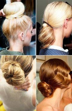 Beauty Inspiration: Hair Buns