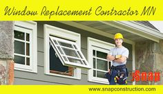 Windows can be replaced by you also but it will be a better option to hire a professional. There are many types of replacement available which ranges at different prices. Visit this site http://www.snapconstruction.com/window-replacement-contractor-mn/ for more information on Window Replacement Contractor MN. Follow us: http://www.23hq.com/MinneapolisRoofing/photo/30658020?album_id=30658013 http://www.pinvegas.com/pin/window-replacement-minneapolis/