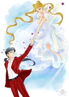 Fanart by Pillara. - World of Eternal Sailor Moon Sailor Moon Stars, Sailor Moon Crystal, Arte Sailor Moon, Sailor Moon Manga, Stars And Moon, Sailor Saturno, Sailer Moon, Moon Drawing, Sailor Moon Wallpaper