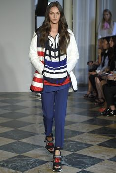 Fay RTW Spring 2015 - Slideshow - Runway, Fashion Week, Fashion Shows, Reviews and Fashion Images - WWD.com