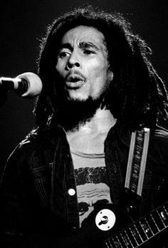Bob Marley, Hammersmith Odeon. London, 1975  by Mick Rock