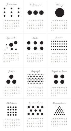 Image of Kalender 2014 >DOTS
