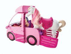 Barbie Horse  truck/trailer