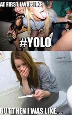 i hate the word YOLO. its just a dumb excuse for teens to act stupid, and end up like this.