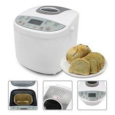 Todeco - Jam Maker Maschine, Home Backen Brot Maschine - Material: Plastik - Standard/Zertifizierung: LFGB - Weiß