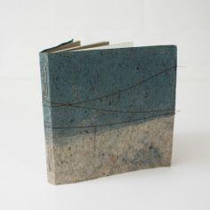 lotta helleberg indigo dyed and stitched notebook I