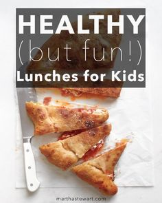You wish they would eat fresh fruits and vegetables. They want Lunchables. Day after day of packing school lunches that are not only nutritious but will actually get eaten can challenge any parent's creativity. Mix things up with these nutritious, tasty lunch ideas that the kids will look forward to.