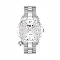 T0494101103701 Κλασικό ανδρικό ρολόι χειρός PR 100 Quartz TISSOT με  μπρασελέ   ασημί καντράν  aec98463d37