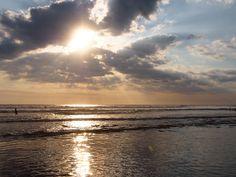 Platinum Sunset along Playa Pelaya coast
