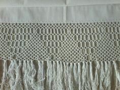 Купить Старинная и ручная штора с поразительным кружевом...Винтаж! - винтаж, винтажный стиль, старинный стиль