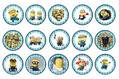 Minion bottle cap images