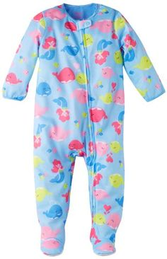 Save $4.50 on Little Me Baby-Girls Infant Sea Mermaid Zip Front Footie; only $13.50