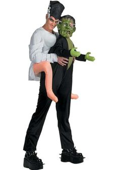 Mens Frankenstein Monster Marriage Costume - One Size @ £49.99