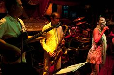 Saxophone Pub is a longstanding jazz club in Thailand's capital of Bangkok