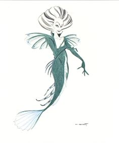 Image detail for -The Little Mermaid Ursula - Character Design