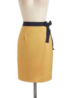 Dijon to Something Skirt-27.99, #ModCloth