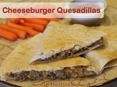Cheeseburger quesadillas feature the classic taste of cheeseburgers in an easy-to-prepare quesadilla. Try this convenient, family-friendly dish tonight! Costs $1.22 per serving.