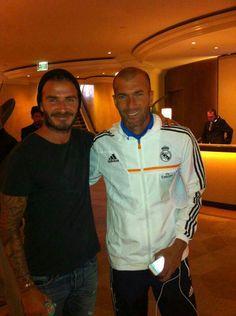 David Beckham & Zidane