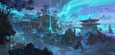 ArtStation - The city of dreams, ling xiang
