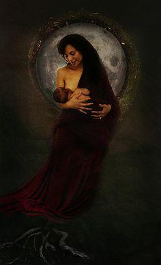 Matariki Madonna Polynesian People, Polynesian Art, Divine Goddess, Mother Goddess, Images Of Mary, Nz Art, Art Village, Maori Art, Kiwiana