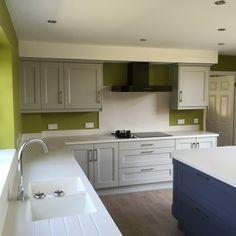 #corian #coriansinks #RealKitchens #miltonkeynes #kitchendesign #interiors #paintedkitchens