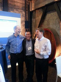 Lots of laughter with Joe Woodard, Bryce Forney and Doug Sleeter #IntuitSummit