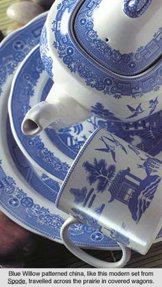 Blue Willow China Pattern from Spode