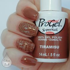 Supernail Progel gel polish Tiramisu