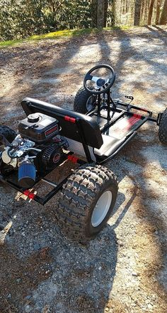 Deluxe Upgrade Live Axle Go-Kart Kit-- Frame not included Build A Go Kart, Diy Go Kart, Go Kart Plans, Go Kart Frame Plans, Go Kart Designs, Go Kart Kits, Homemade Go Kart, Truck Flatbeds, Drift Trike