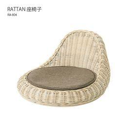 RA-804 ラタン座椅子はアジアンテイストを感じる、圧迫感の無い低座椅子です。送料無料の家具通販 インテリアショップ ルームスタイルで販売中