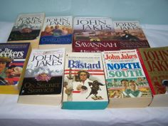 Lot of 9 John Jakes PB & HC Books Homeland North and South The Seekers + More