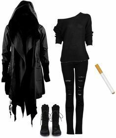 casual outfits for halloween 50 best outfits casual outfits for halloween best outfits – casual outfits for halloween best outfits – Punk Outfits, Outfits Casual, Gothic Outfits, Fashion Outfits, Womens Fashion, Women's Casual, Fashion Ideas, Fashion Clothes, Winter Outfits