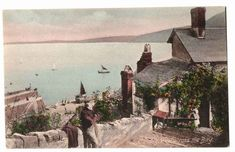 Undated Unused Postcard Clovelly view across the Bay England United Kingdom UK