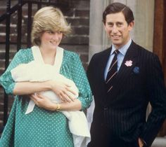 Princess Diana after she gave birth to William