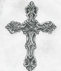 Cross tattoo I really like :)