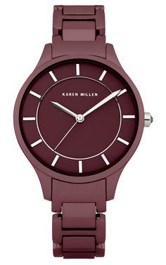 Slim case with steel bracelet   Luxury Women's saleaccessories   Karen Millen