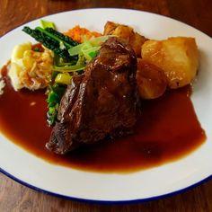 #ShoulderofLamb #RoastDinner #EatChester #Chester #FoodPorn #FoodyPassport #Gravy #PubGrub Roast Dinner, Grubs, Chester, Passport, Steak, Food Porn, Pork, Dishes, Instagram