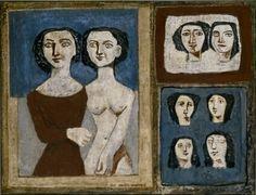 Massimo Campigli: Concorso di bellezza - Stedelijk Museum Amsterdam