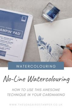Card Making Tips, Card Making Tutorials, Card Making Techniques, Making Ideas, Watercolor Cards, Watercolour, Stamping Up Cards, Tampons, Cricut