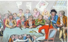 Ringleaders at Nore Mutiny in 1797.