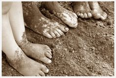 Relax! Getting Dirty is Healthy for Kids!