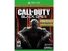 Name: #Call of Duty: Black Ops III - Gold Edition Brand: #Activision Platform: Xbox One Genre: Shooter Model: 047875878013 ESRB Rating: M - Mature Electrical Outl...